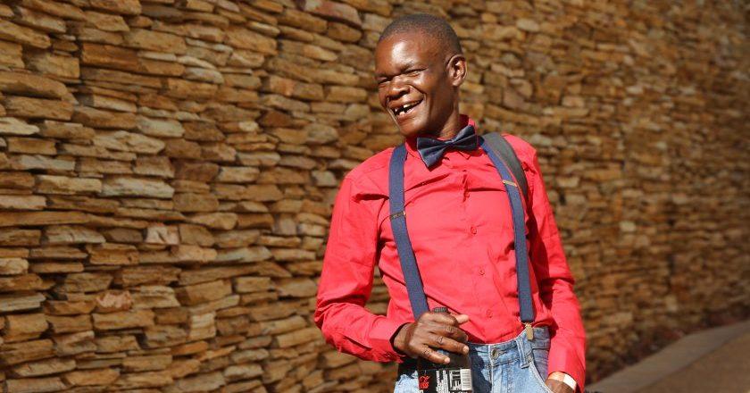 Comedian Pepukai Zvemhari aka Baba Tencen PIC: COURTESY OF ZIMSINSA.COM
