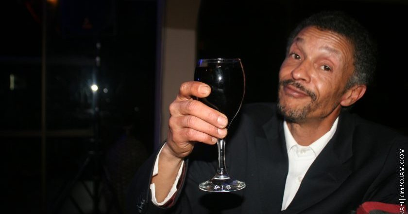 Edgar Langerveldt at Maestro comedy night PIC: COURTESY OF ZIMBOJAM.COM