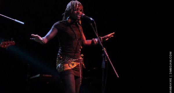 Buhle performing at the 2015 Harare Jazz Festival PHOTO: T. CHIHAMBAKWE | ZIMBOJAM.COM