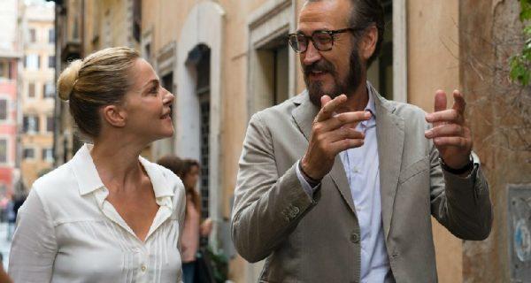 ItalianMoviePsychoanalyst Francesco Taramell with his object of affection PHOTO: CINEBLOG.IT