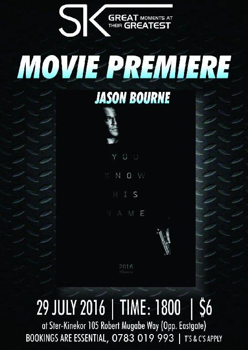 Jason Bourne Movie Premier