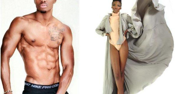 Zimbabwean models Tinotenda Chinyani and Thobekile Dlamini PIC: YOUTHVILLAGE.CO.ZW AND MODELMANAGEMENT.COM