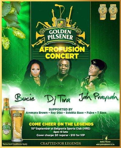 Golden Pilsner Afrofusion Concert