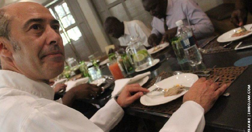 Man of many talents Ambassador, Enrico De Agostini PIC: T. CHIHAMBAKWE | ZIMBOJAM.COM