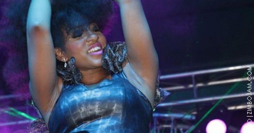 Ammara Brown performing at the shoko festival PIC: P.MHAKO|ZIMBOJAM.COM