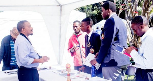 Young people enquire about academic and business opportunities abroad at theSpace 2016 PIC: COURTESY OF THESPACE