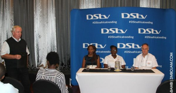 MultiChoice announces price slashes to the media at a press conference PIC: T. NDABAMBI | ZIMBOJAM.COM