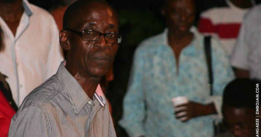 Chirikure Chirikure acknowledging his hustle at Lit Fest PIC: T. MANYANGADZE | ZIMBOJAM.COM
