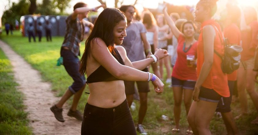 Partygoers at a previous edition of the Jameson Vic Falls Carnival. PIC: COURTESY OF ENTHUSE