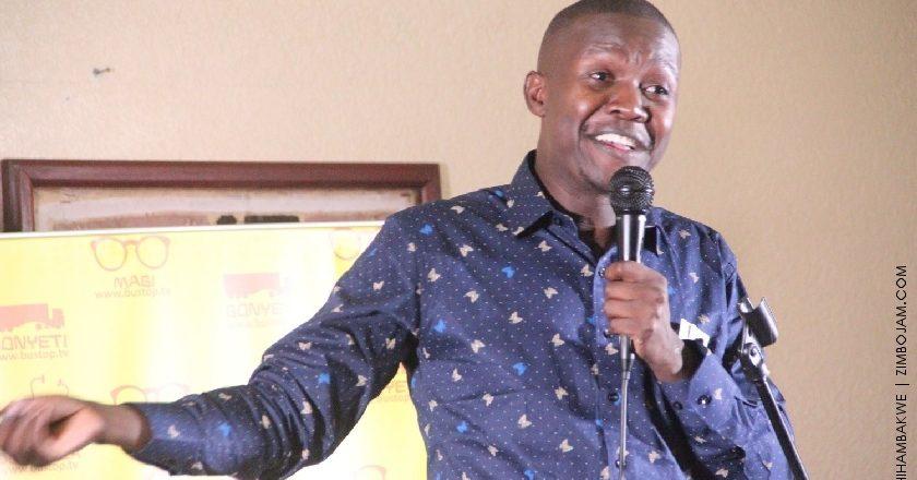 Doc Vikela performing at the Bustop TV anniversary. PIC: T. CHIHAMBAKWE | ZIMBOJAM.COM