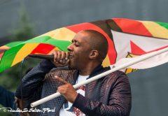 Dumisani Maraire aka Draze, representing Zimbabwe in the US PIC: ERICA SCIARRETTA