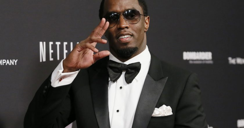 "Sean ""Diddy"" Combs arrives at The Weinstein Company & Netflix after party after the 71st annual Golden Globe Awards in Beverly Hills, California, January 12, 2014. REUTERS/Danny Moloshok (UNITED STATES - Tags: Entertainment)(GOLDENGLOBES-PARTIES) - RTX17BVF PIC: COURTESY OF NEWSWEEK"