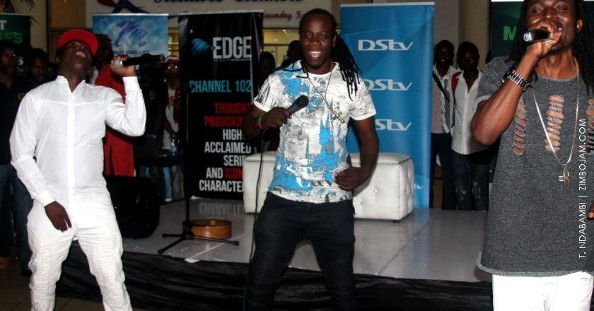 Ba Shupi and Xtra Large entertaining their fans PIC: T. NDABAMBI | ZIMBOJAM.COM
