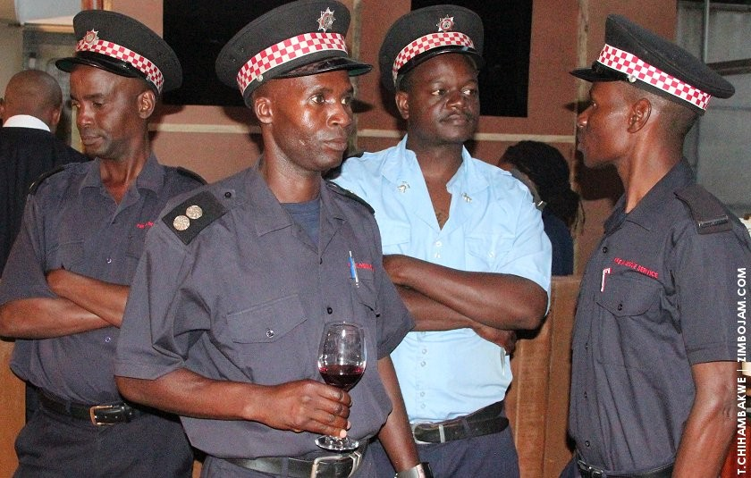 Reps from the fire department present at the exhibition. PIC: T. CHIHAMBAKWE | ZIMBOJAM.COM