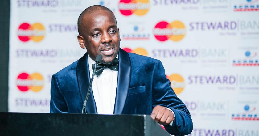 The man behind Zimbabwe Achievers Awards, Conrad Mwandza PIC COURTESY OF FELIX MOYO