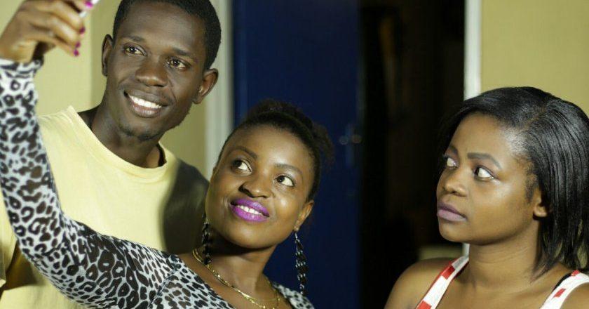 Cast of Tete ne Muroora, L-R Norman, Sandra S.M Chiginya and Amina Chivasa