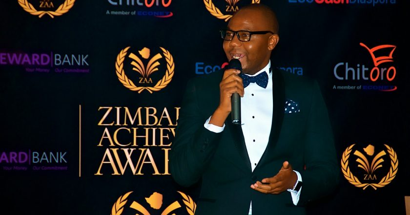 Dr. Lance Mambondiani speaking at the ZAA | PIC COURTESY OF ZAA
