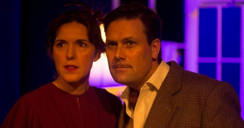 Of romance and murder in the play 39 Steps. PIC: COURTESY OF REPS THEATRE