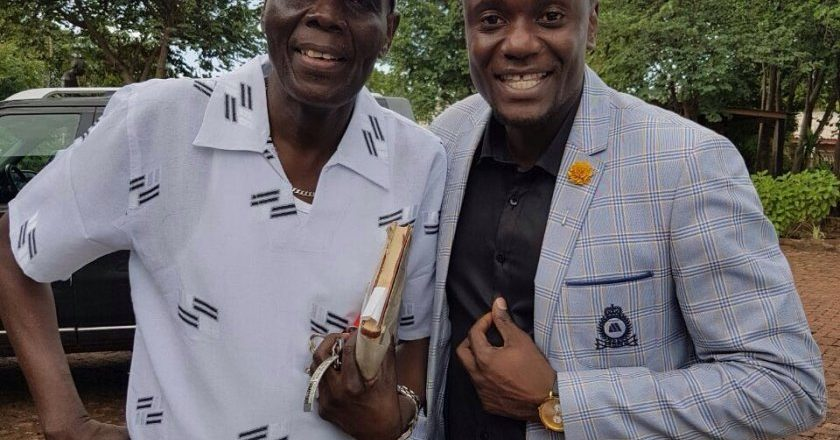 Dr. Tuku and Mahachi in gospel collaboration PIC: COURTESY OF MAHACHI