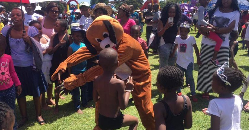 The StarFM Easter Egg Hunt held at Alexandra Sports Club PIC: COURTESY OF TAFADZWA ZIMOYO