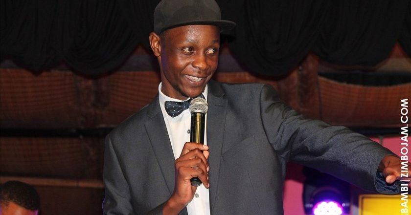 Long John did the opening act of the comedy festival PIC: T. NDABAMBI | ZIMBOJAM.COM