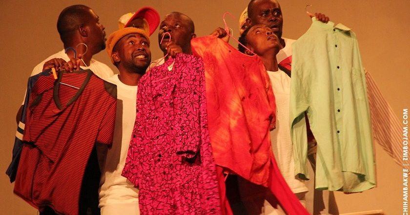 A scene from the play Liberation. PIC: T. CHIHAMBAKWE | ZIMBOJAM.COM