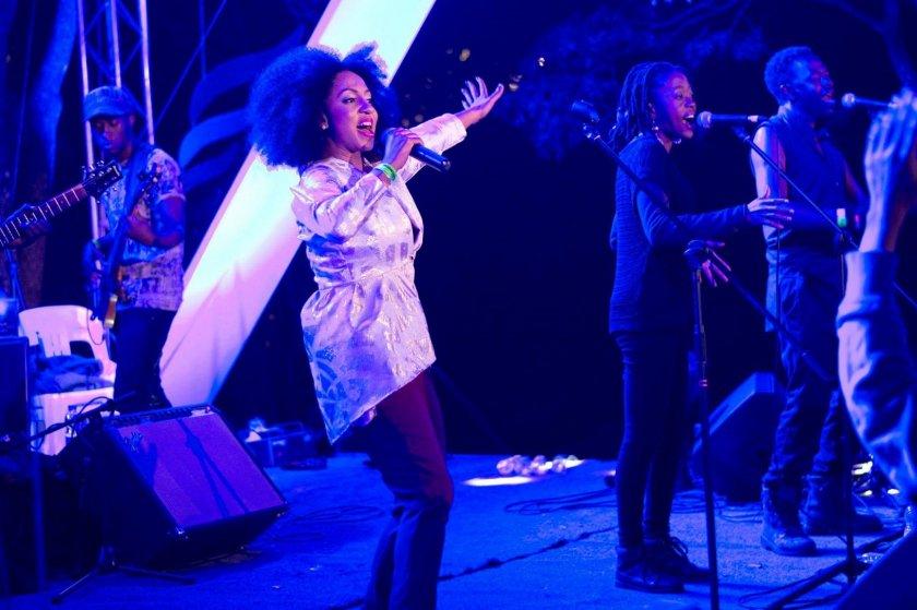 Ammara performing at Miombo last year. PIC COURTESY OF MIOMBO MAGIC
