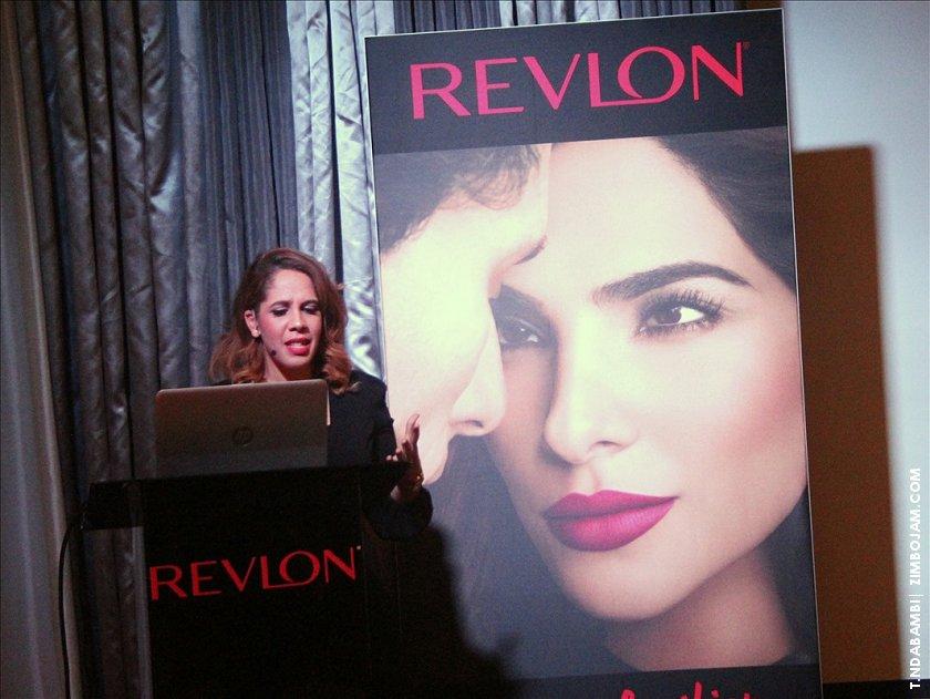 Kerry Scott-Abdullah, head of marketing of Revlon in Zimbabwe.