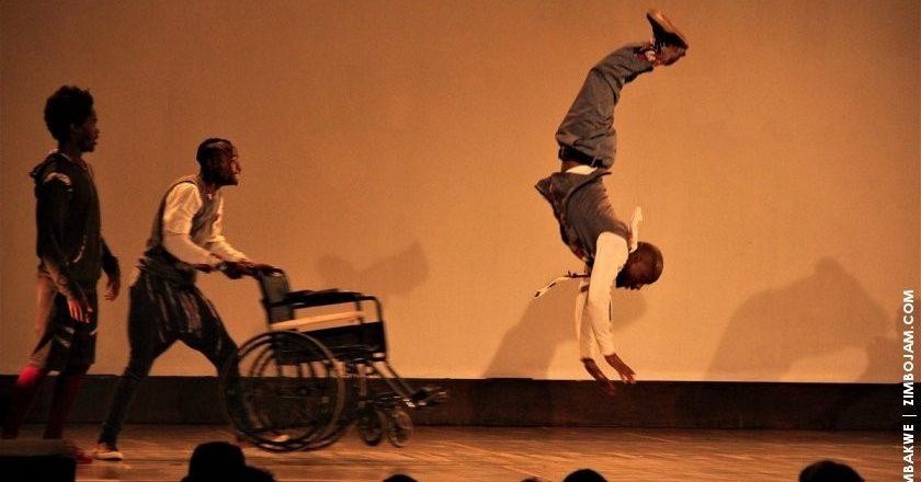 A scene from the play Broken Pavement PIC COURTESY OF T. CHIHAMBAKWE | ZIMBOJAM