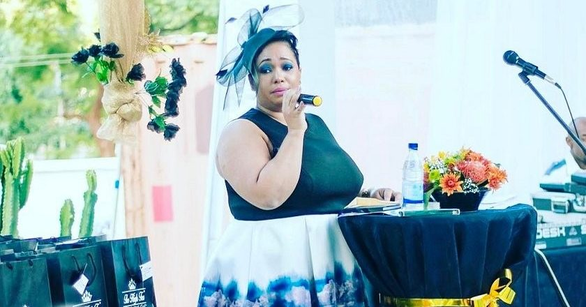 Olinda Chapel speaking at a local high tea event