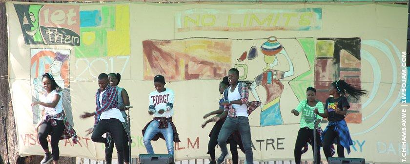 One of the schools staging a dance performance. PIC: T. CHIHAMBAKWE | ZIMBOJAM.COM