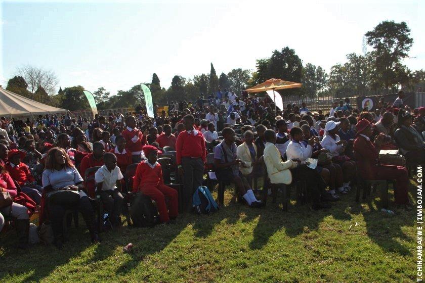 Part of the crowd that was in attendance. PIC: T. CHIHAMBAKWE | ZIMBOJAM.COM