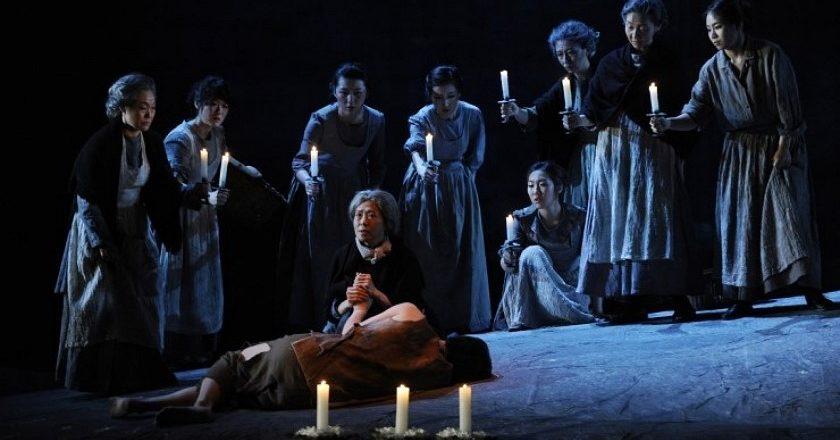 : A production of 'Widows' in South Korea. PHOTO: SUNG-HAWN SHIN