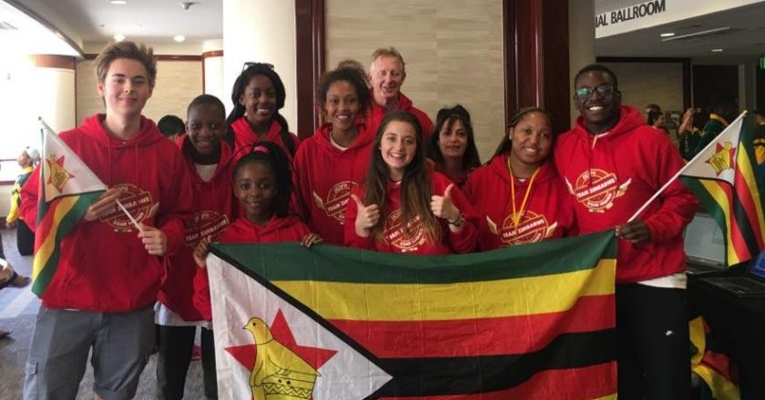 Team Zimbabwe at World Championships for Performing Arts (WCOPA) 2017 PIC: COURTESY OF ZICOPA